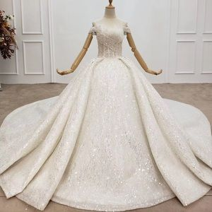Crystal wedding dresses